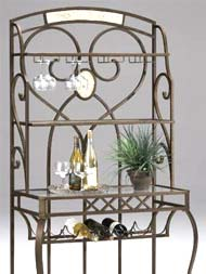 Bakers Racks Metal Wood Wrought Iron Available With Free Shipping Kitchensource