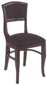 Biedermeier Chair, Upholstered Seat/Back - Alston