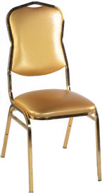 Diamond Stacking Chair by Alston