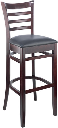 Bar Stool With Vinyl Seat by Cambridge