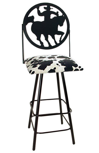 Silhouette 30 Inch Swivel Bar Stool