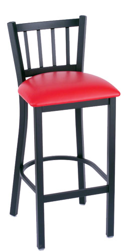 Holland Contessa Bar Stool with Vinyl Seat