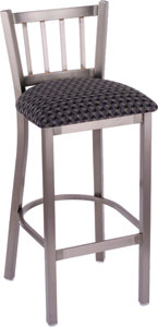 Contessa Bar Stool with Wood Seat