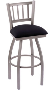 Holland Contessa Swivel Bar Stool with Vinyl Seat