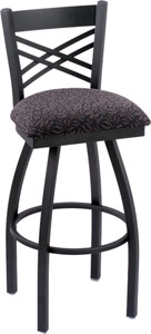 Holland Catalina Swivel Bar Stool with Vinyl Seat