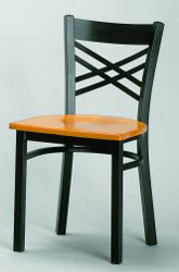 RE-515 Metal/Wood Chair