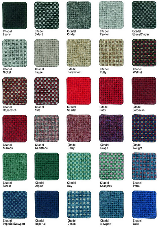 Fabric Grade 6 Swatches