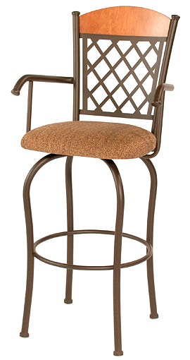 TC-KST2005, Dominic Swivel Bar Stool by Trica