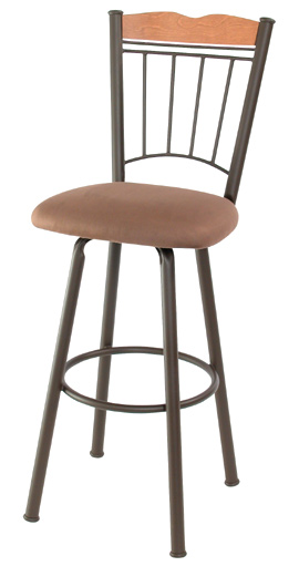 TC-KST2011, Giselle Swivel Bar Stool by Trica