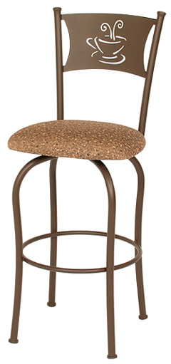 TC-KST2013, Hannah Swivel Bar Stool by Trica