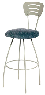 TC-KST2022, Raquel Swivel Bar Stool by Trica