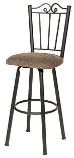 TC-KST2024, Rebecca Swivel Bar Stool by Trica