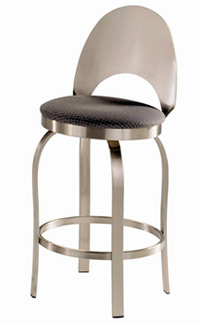 Champagne Swivel Bar Stools