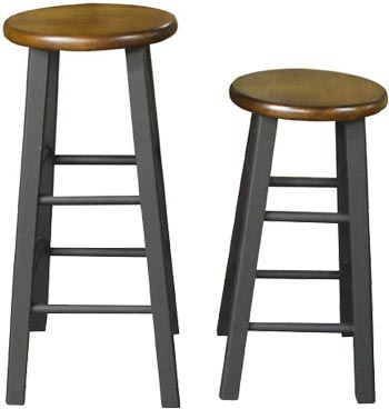 Round Top Barstools by International Concepts