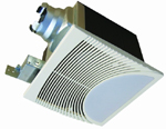 Bathroom Ceiling Mounted Fan/Light Combination AU-AF69L2, AU-AF912L2 shown