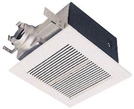 Panasonic 190 CFM Whisper ceiling mounted bathroom fan, 6 inch duct