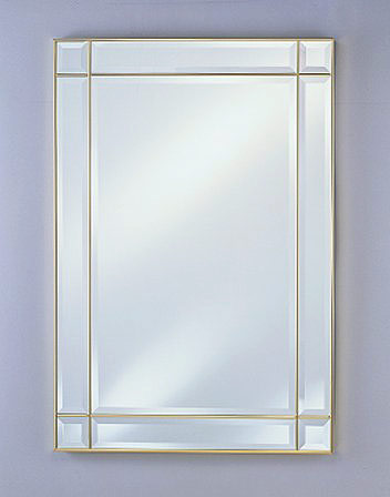 Rectangular Wall Mirror by Afina