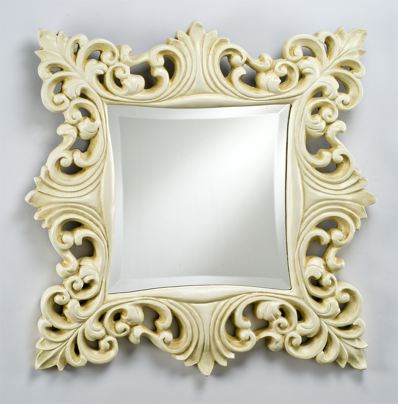 Timeless Traditionals Square Wall Mirror by Afina