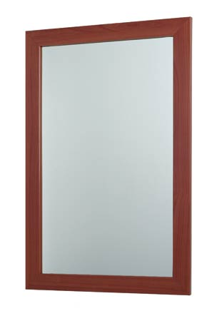 Bath20 Matching Warm Wood Mirror for Bathroom Vanity