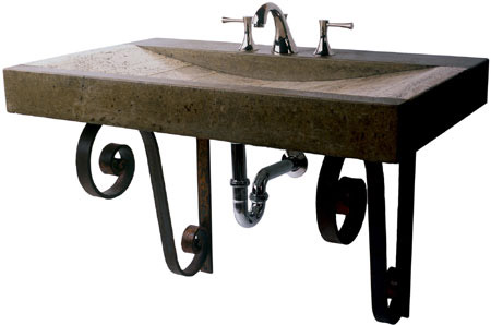 37'' Wide Rolling Slab Sink