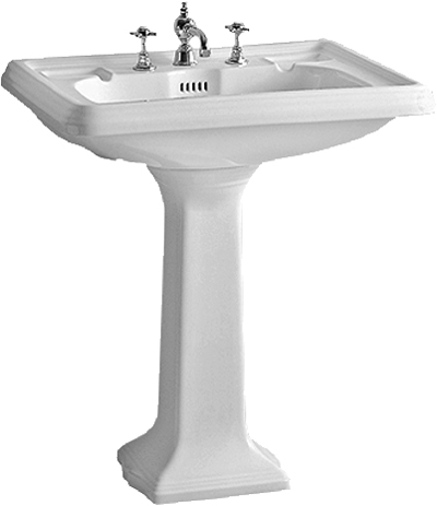 Pedestal Bathroom Basins