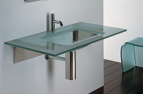 New Generation LOOM-H Rectangular Glass Counter Top Unit