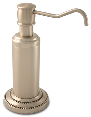 Free standing soap dispenser- Dottingham by Allied Brass