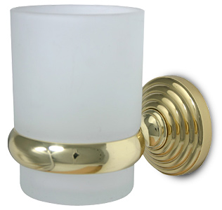 Wall mounted tumbler holder- Waverly Place by Allied Brass