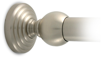 Shower curtain rod bracket- Waverly Place by Allied Brass