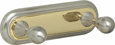 Alno Embassy Series - Double Robe Hook