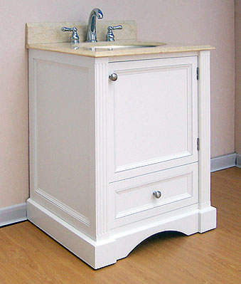 Empire Newport Collection Cinnamon Bathroom Vanity 24 inchW