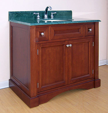 Empire Newport Collection Cinnamon Bathroom Vanity 36 inch W