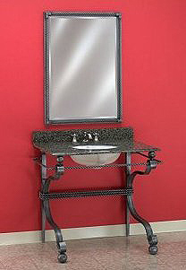 Wrought Iron Vanity 103