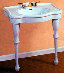 28-inch Roma Collection Ceramic Console