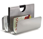 Stainless Steel Magazine Rack