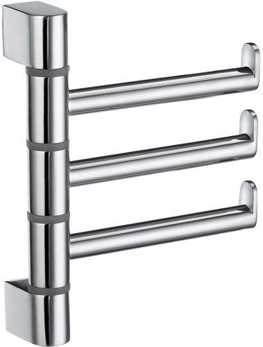 Swing Arm Towel Rail by Smedbo