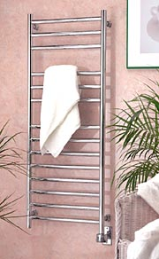 WE-BTW2319, Wall mounted bathroom towel warmer- Eutopia by Wesaunard