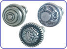 Traditional brass/zinc knobs by Hafele