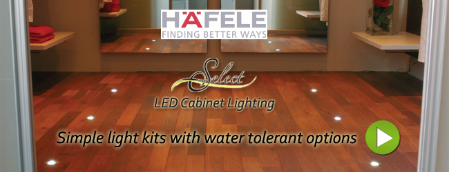 Cabinet Lighting - Hafele LED Cabinet & Furniture Lighting ...