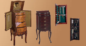 Jewelry Cabinets and Armoires