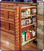 Bamboo Base Filler Pull-Out by Rev-A-Shelf