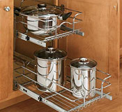 Chrome Pull-Out Baskets