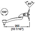 Hafele Ellipta Monitor Arms