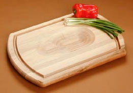 JK Adams 20 inchW Turnabout Cutting Board w/ inchRoast Holder inch and Juice Groove