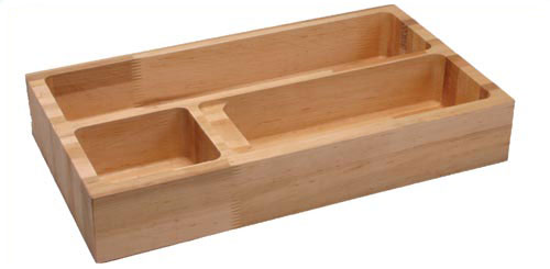 Wood Cutlery Tray by KV Virt�