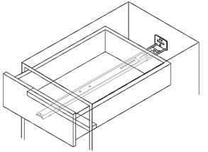 Under Bottom Mount We Offer Several Slides Which Attach To The Or Edge Of A  Drawer