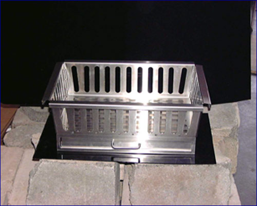 Fireplace Grate by Advance Tabco