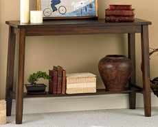 Aurora Collection II - Plank Sofa Table