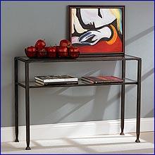 Aurora - Metal Sofa Table
