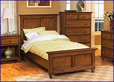 Home Styles - Canopy Oaks Twin Bed Rails